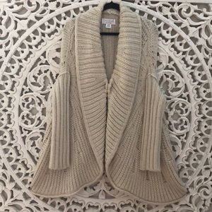 ANTHROPOLOGIE The Cue Cher Qu Chunky Cardigan S